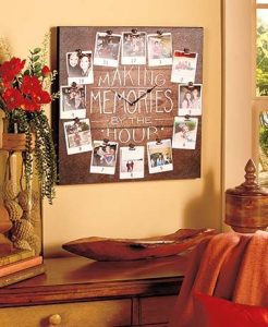 photo clock diy shabby chic frames